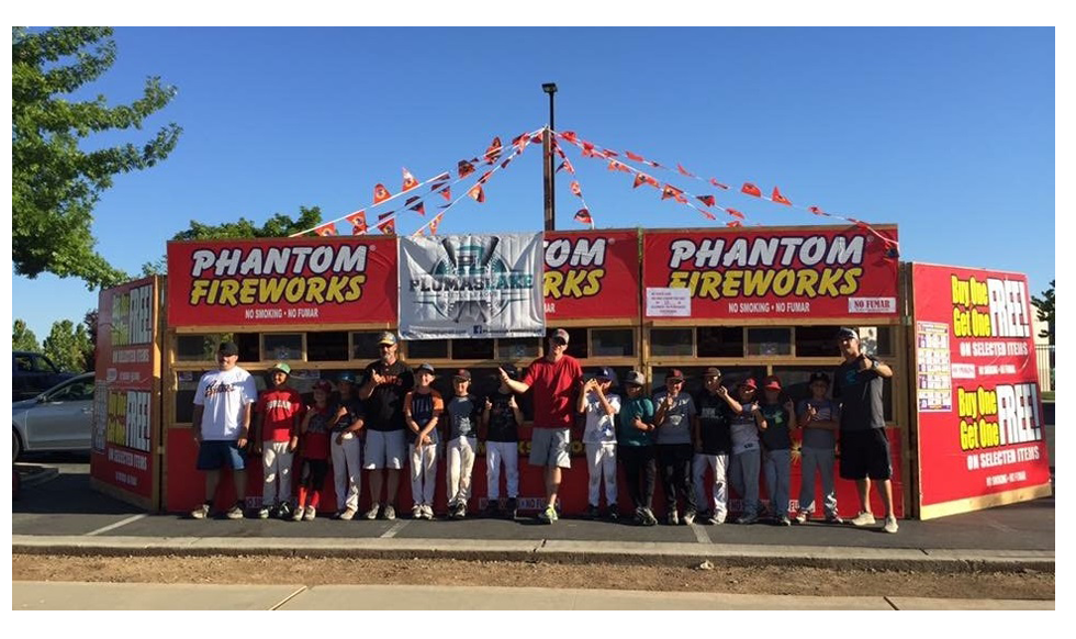 phantom fireworks stand photo