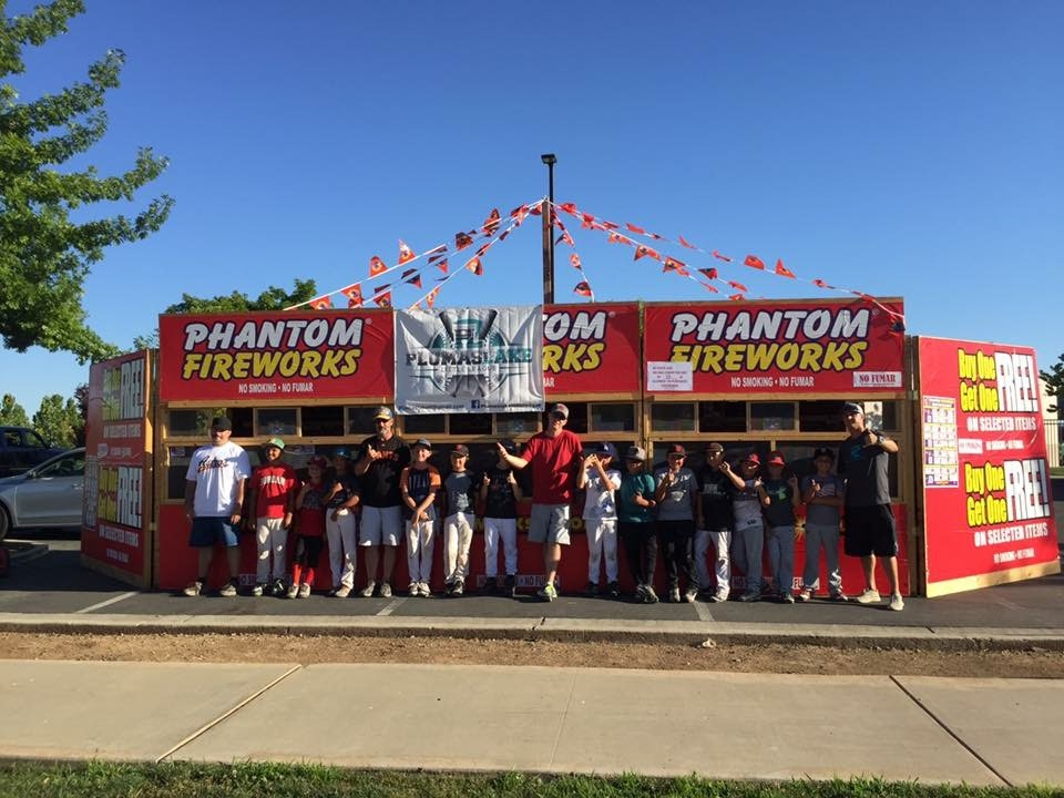picture of a phantom fireworks stand