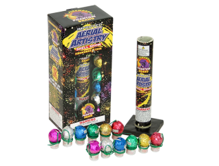 Reloadable Mortars Aerial Artistry Shell Show