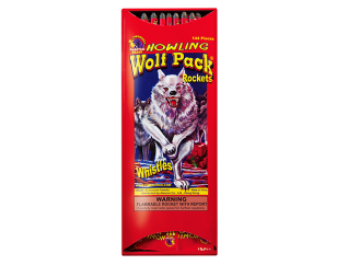 Rockets and Missiles Howling Wolf Pack Bottle Rockets