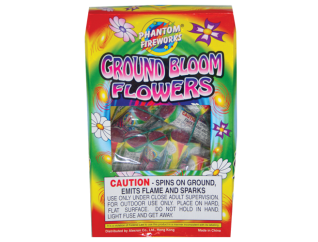 Ground Spinners Ground Bloom Flowers