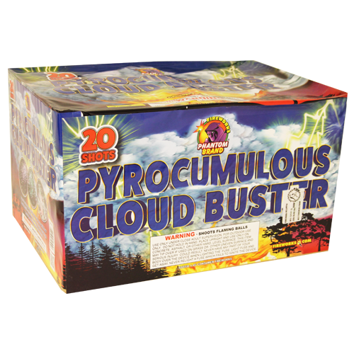 500 Gram Firework Repeater Pyrocumulous Cloud Burst
