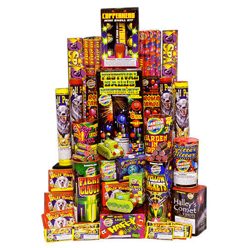 Fireworks Assortment New Yorker Maine