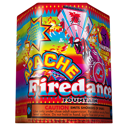 Fireworks Fountains Apache Firedance