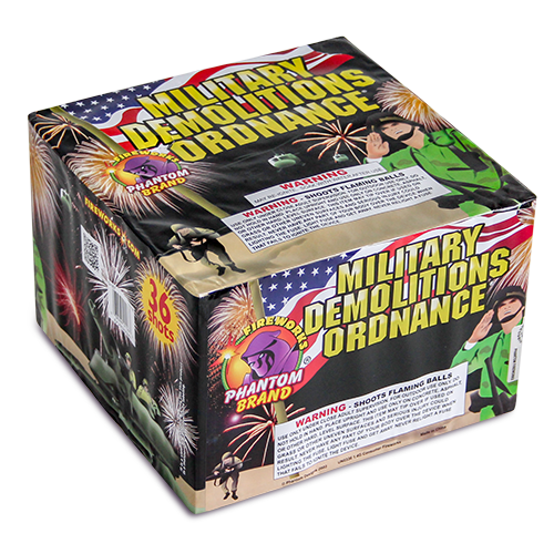 500 Gram Fireworks Repeater Military Demolition Ordinance
