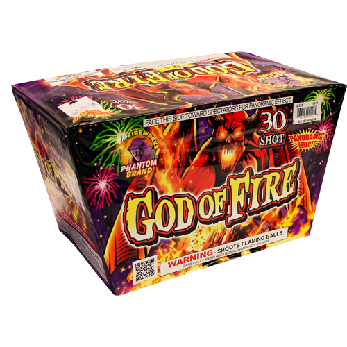 500 Gram Firework Repeater God of Fire