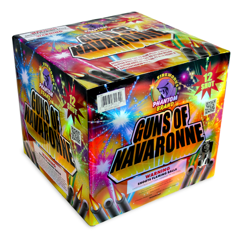 500 Gram Fireworks Repeater Guns of Navaronne