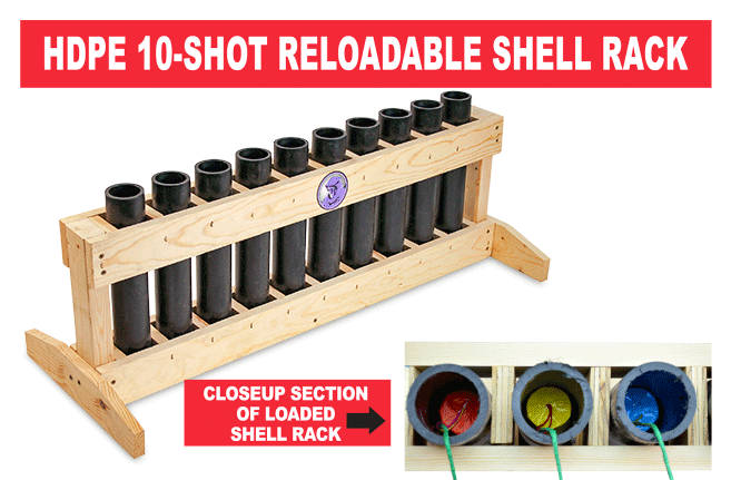 Reloadable Shell Rack