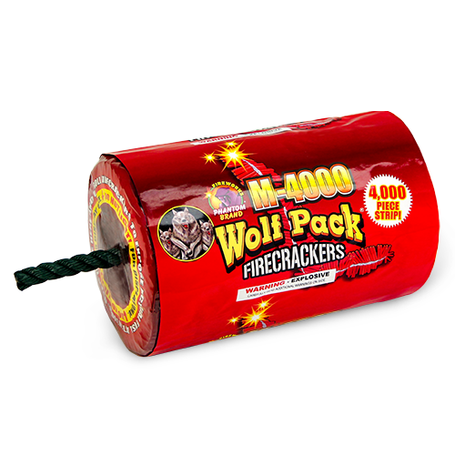 Firecrackers Wolf Pack M-4000