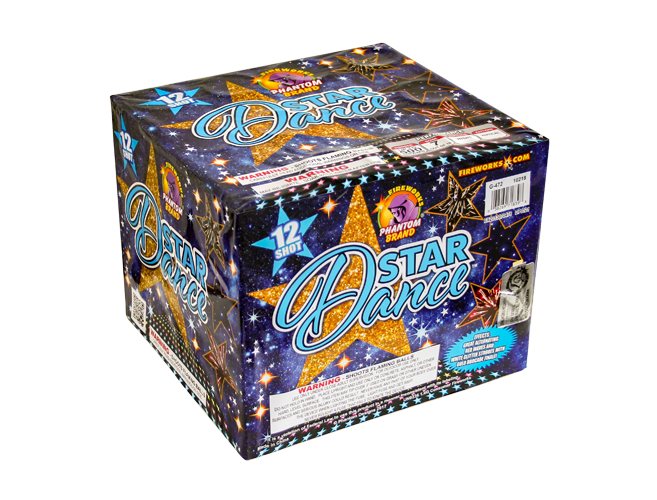 500 Gram Firework Repeater Dance Star