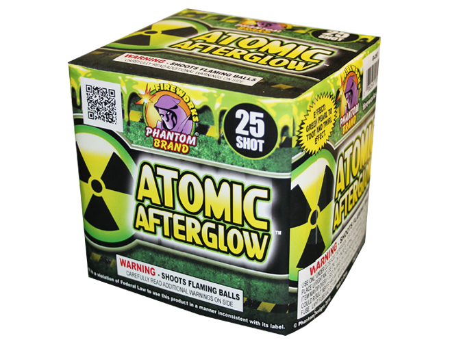 200 Gram Fireworks Repeater Atomic Afterglow