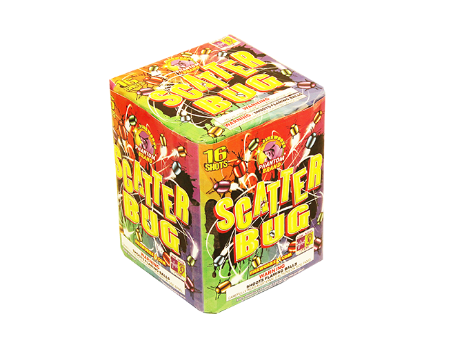 500 Gram Firework Repeater Scatter Bug
