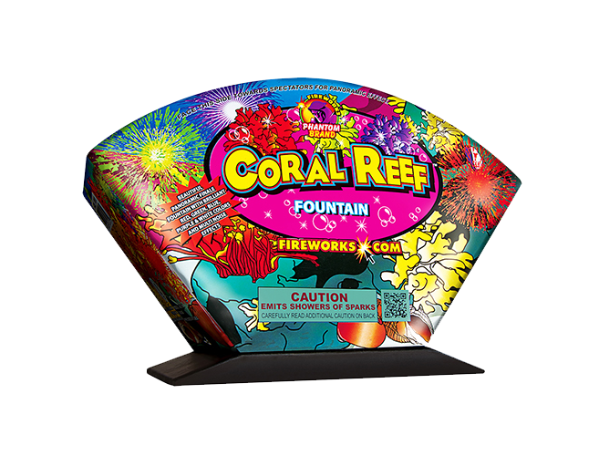 Fireworks Fountains Coral Reef