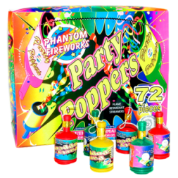Party fireworks poppers
