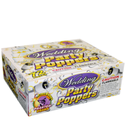 Wedding Party fireworks poppers