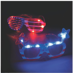 Patriotic Light-up Glasses(Online Only)