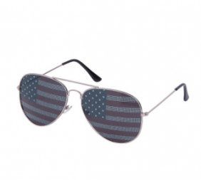USA Flag Aviator Sunglasses(Online Only)