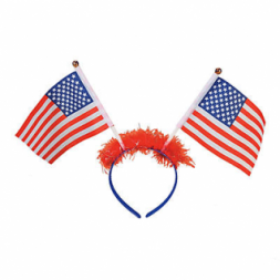 Patriotic Flag Head Boppers (4pcs)(Online Only)
