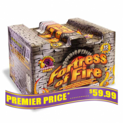 Fortress of Fire 500 gram fireworks repeater