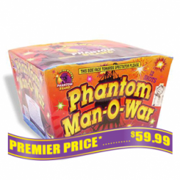 Phantom Man O War 500 gram fireworks repeater