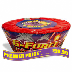 G-force 500 gram fireworks repeater