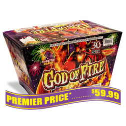 God of Fire 500 gram fireworks repeater
