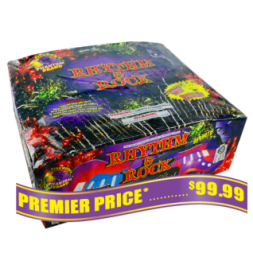 Rhythm and Rock 500 gram fireworks repeater
