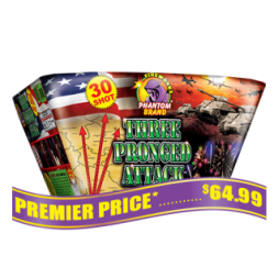 Three Pronged Attack 500 gram fireworks repeater