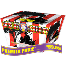 Sons of Liberty 500 gram fireworks repeater