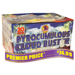 Pyrocumulous Cloud Burst 500 gram fireworks repeater