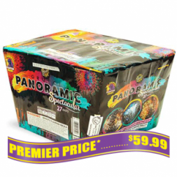 Panoramic 500 gram fireworks repeater