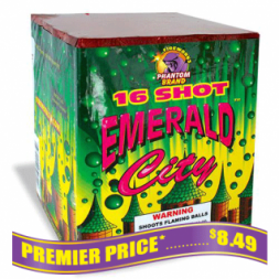 Emerald City 200 gram fireworks repeater