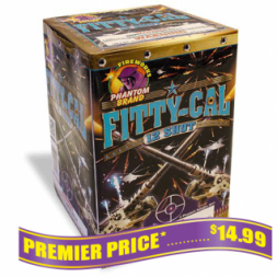 Fitty Cal 200 gram firework repeaters