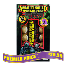 Assault Squad reloadable fireworks mortars