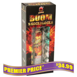 Boom Shockalocka reloadable fireworks repeaters