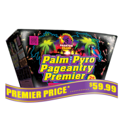 Palm Pyro Pageantry 500 gram fireworks repeater