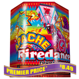 Apache Firedance fireworks fountains