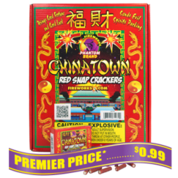 Chinatown Red Snap Crackers