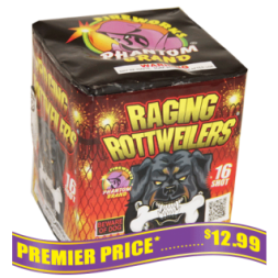 Raging Rottweilers, 16 Shot ($24.99 VALUE)