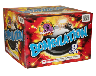 500 Gram Firework Repeater Bombilation