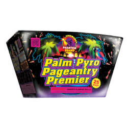 500 Gram Fireworks Repeater Palm Pyro Premier