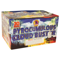 500 Gram Fireworks Repeater Pyrocumulous Cloud Burst