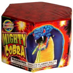200 Gram Firework Repeater Mighty Cobra