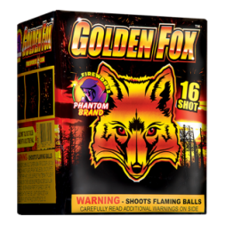 200 Gram Fireworks Repeater Golden Fox