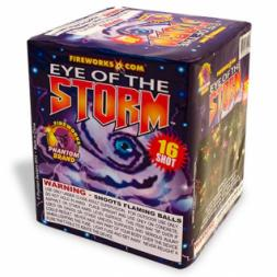 200 Gram Fireworks Repeater Eye of the Storm