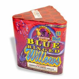 200 Gram Fireworks Repeater Blue Ringed Willows