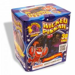 200 Gram Fireworks Repeater Wicked Pissah