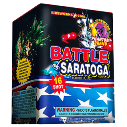 200 Gram Fireworks Repeater Battle of Saratoga