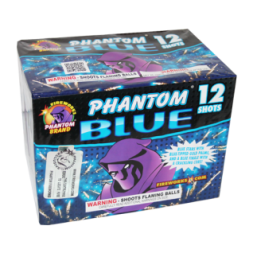 200 Gram Firework Repeater Gender Reveal Blue