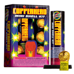 Reloadable Mortars Copperhead Mini Shell Kit